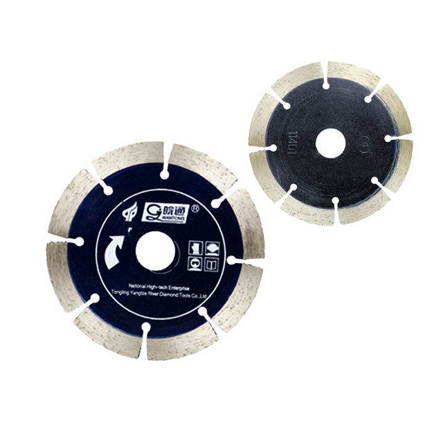 Wet and dry diamond segmented cutting disc saw blade for marble and granite