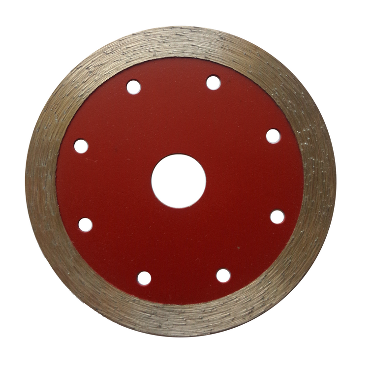 High Performance Wet Cutting Continuous Rim Diamond Saw Blade for Masonry